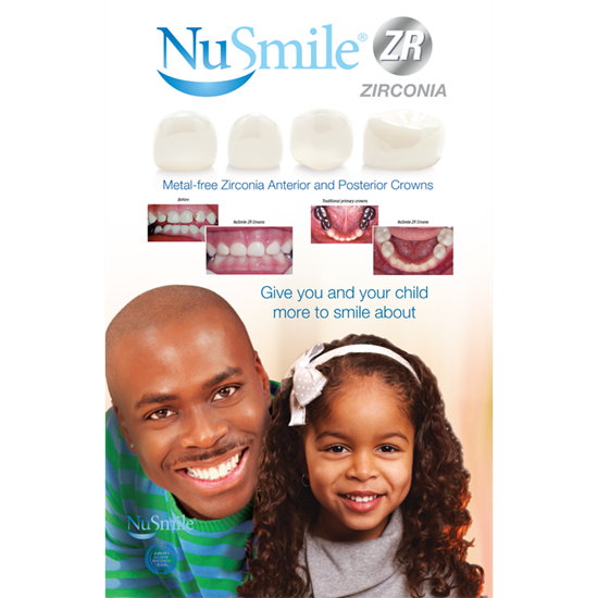 Picture of NuSmile ZR English Table Top Display (African American)
