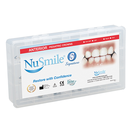 Picture of NuSmile Signature Pre-veneered Anterior Starter Kit - Short