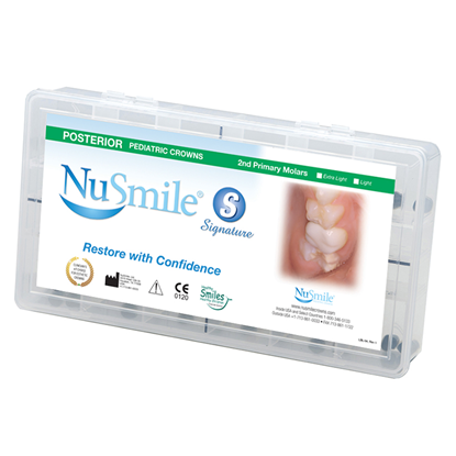 "Picture of NuSmile Signature Pre-veneered Posterior Mini ""E"" Kit"