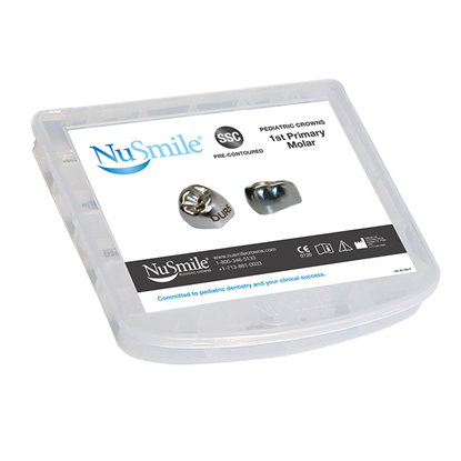 Picture of NuSmile SSC Pre-contoured 1st Primary Molar Crown Storage Box