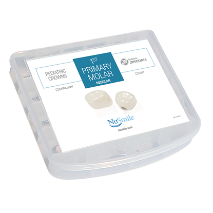 Picture of NuSmile ZR Zirconia 1st Primary Molar Regular Professional Kit