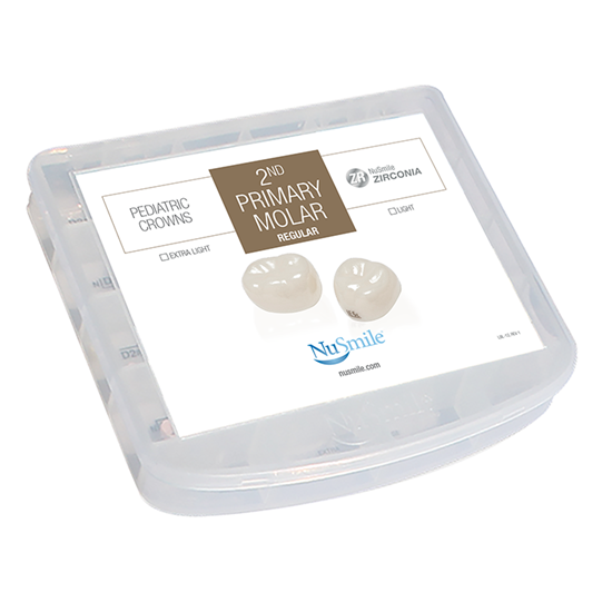 Picture of NuSmile ZR Zirconia 2nd Primary Molar Professional Kit