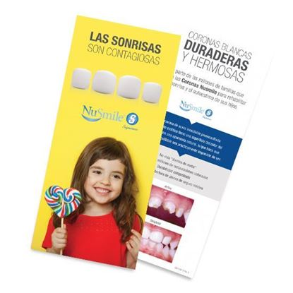 Picture of NuSmile Signature Crown Spanish Brochures for Parents, Pack of 50